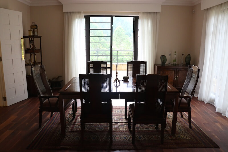 Mtini Estate Dining Room - Furnished Apartments in Nairobi