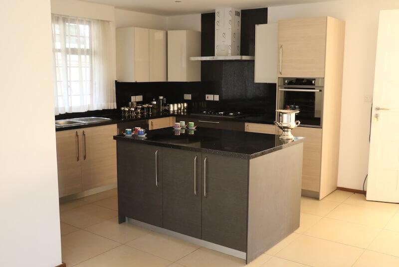 Mtini Estate Kitchen - Furnished Apartments in Nairobi