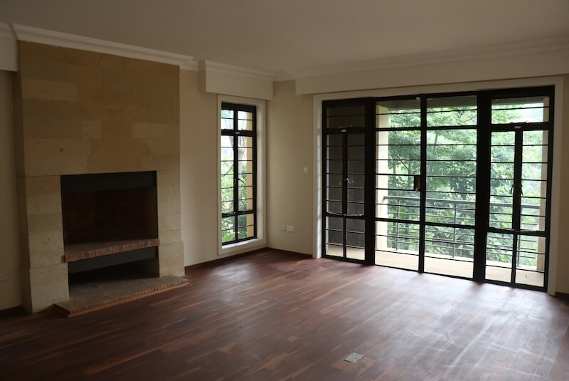 Mtini Estate Living Room - Furnished Apartments in Nairobi