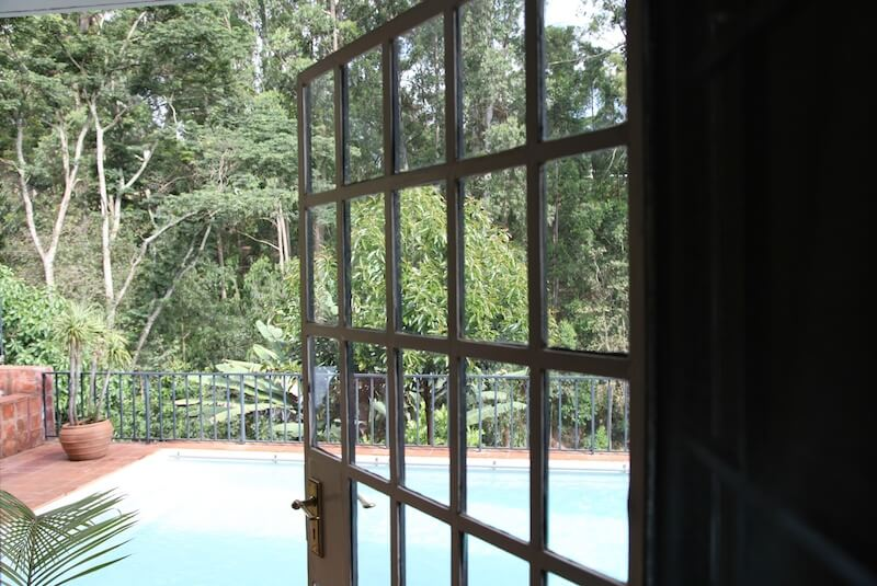 Garden Cottage Door to Pool and Patio - Furnished Apartments in Nairobi