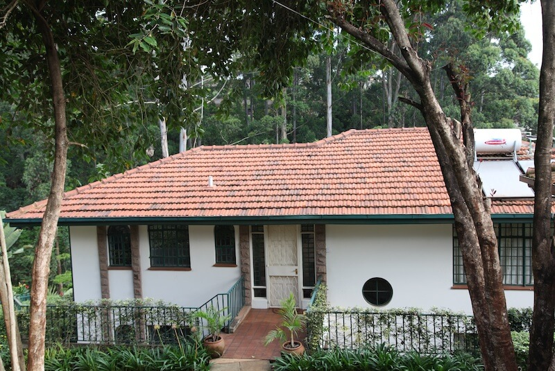 Pool House Exterior - Furnished Apartments in Nairobi