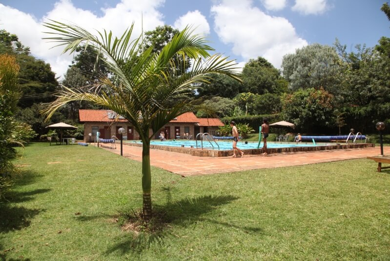 The Red Hill Cottage Pool - Furnished Apartments in Nairobi