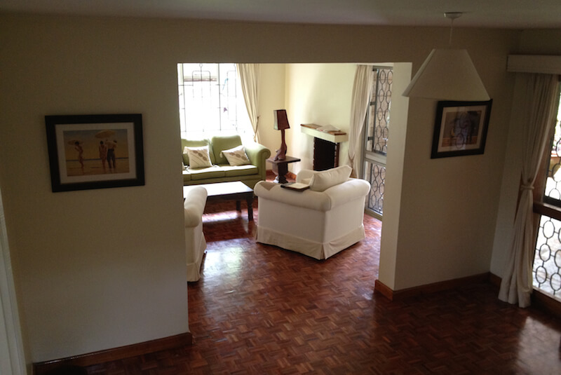 The Red Hill Cottage Entry - Furnished Apartments in Nairobi