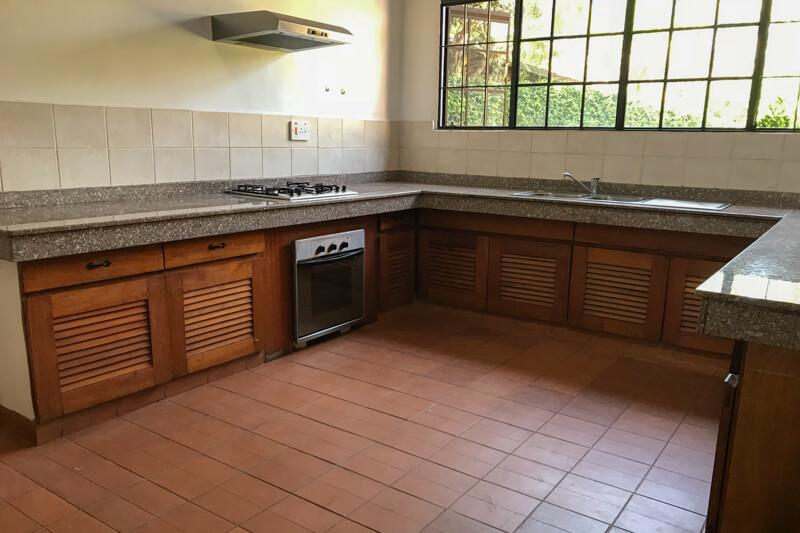 Lake View Cottage Kitchen
