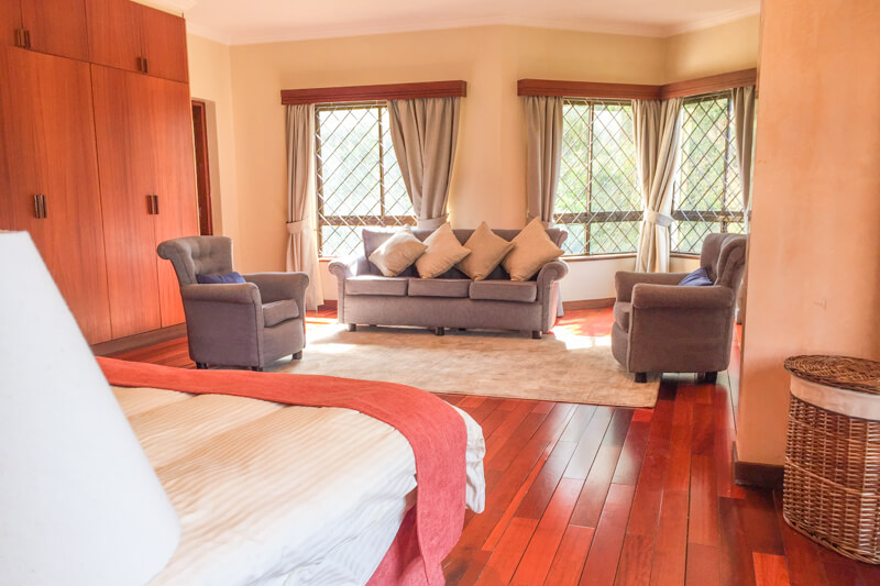 Trade Winds Bedroom - Furnished Apartments in Nairobi