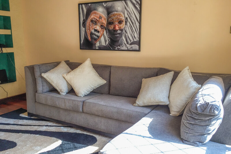 Trade Winds Television Room - Furnished Apartments in Nairobi