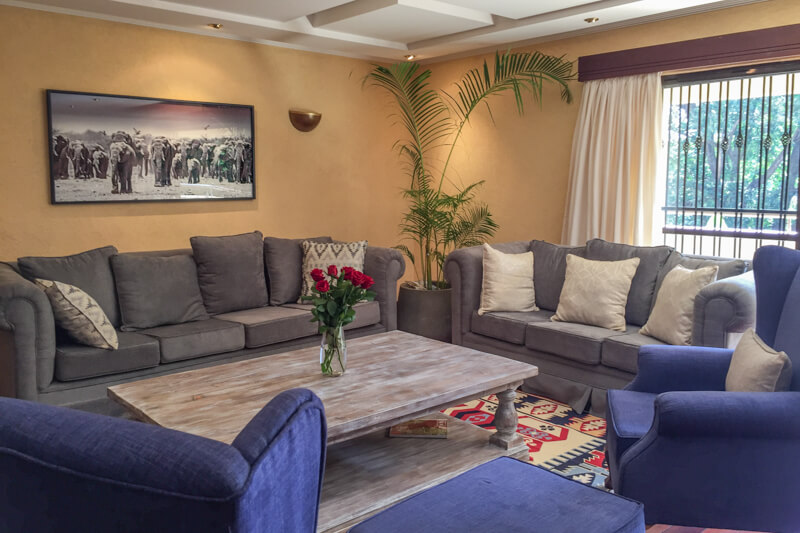 Trade Winds Living Room - Furnished Apartments in Nairobi
