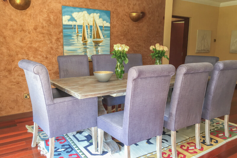 Trade Winds Dining Room - Furnished Apartments in Nairobi