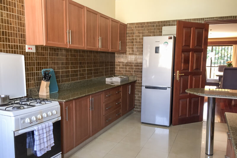Trade Winds Kitchen - Furnished Apartments in Nairobi