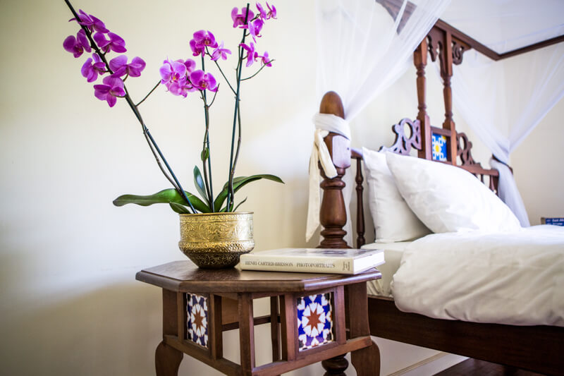 Garden Cottage Bedroom - Furnished Apartments in Nairobi