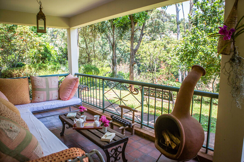 Garden Cottage Balcony - Furnished Apartments in Nairobi