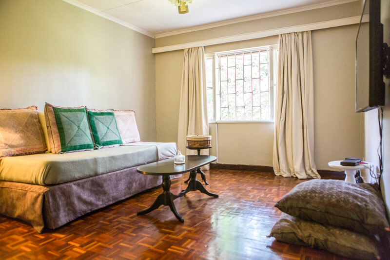 Muthaiga Meadows Television Room - Furnished Apartments in Nairobi