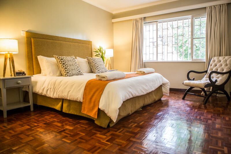 Muthaiga Meadows Bedroom - Furnished Apartments in Nairobi