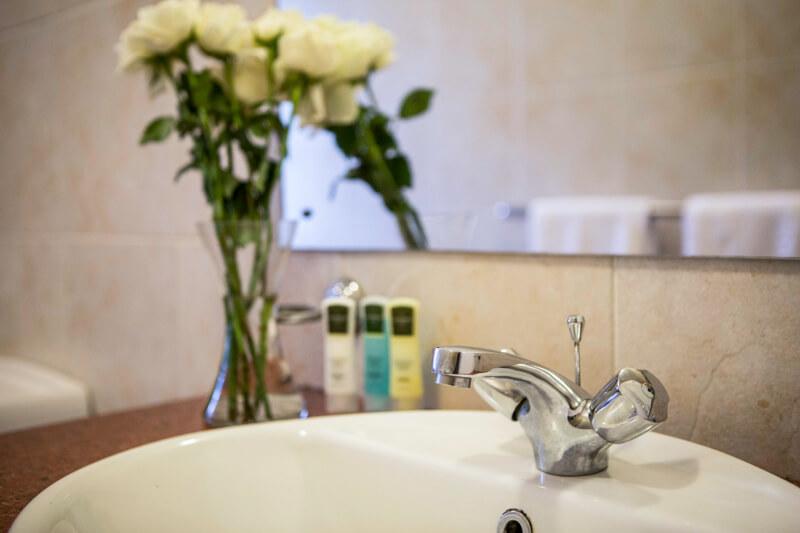 Pool House Bathroom - Furnished Apartments in Nairobi
