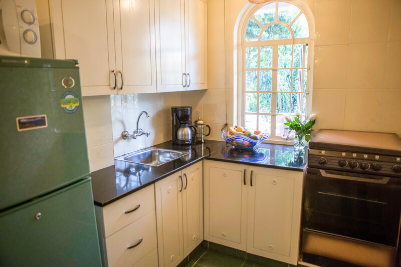 Pool House Kitchen - Furnished Apartments in Nairobi