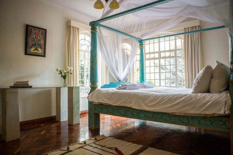 Pool House Bedroom - Furnished Apartments in Nairobi