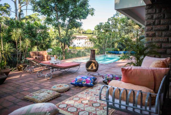 Pool House Pool and Patio - Furnished Apartments in Nairobi