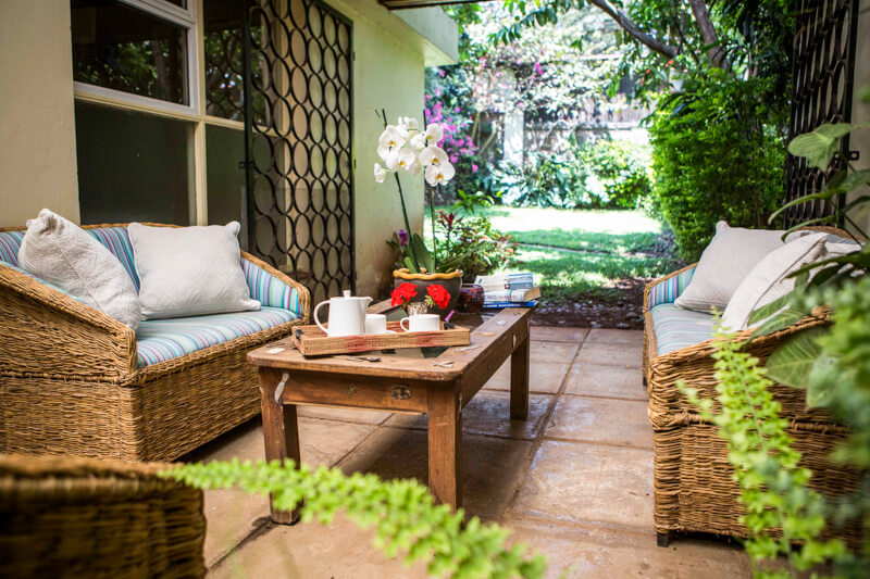State House Courtyards Back Courtyard - Furnished Apartments in Nairobi