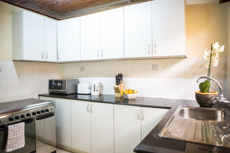 State House Courtyards Kitchen - Furnished Apartments in Nairobi
