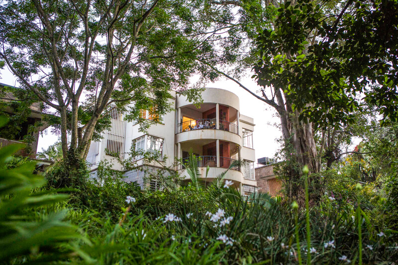 The Sanctuary Exterior - Furnished Apartments in Nairobi