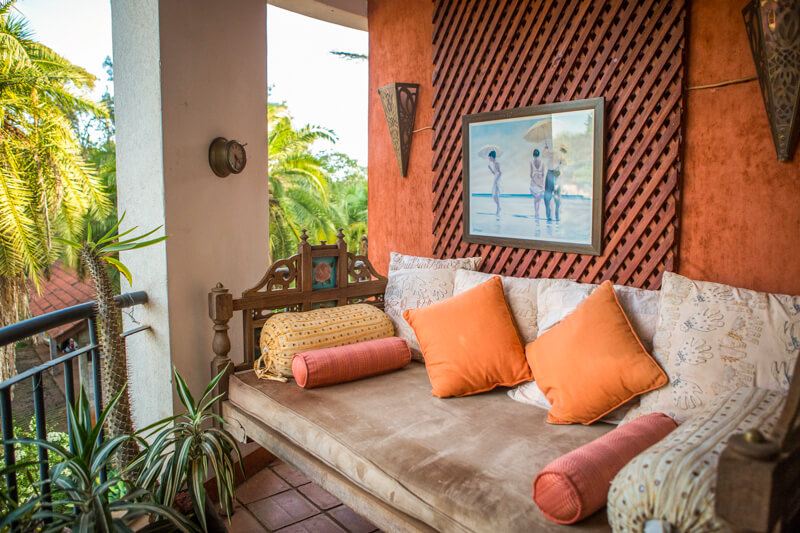 The Sanctuary Bedroom Balcony - Furnished Apartments in Nairobi