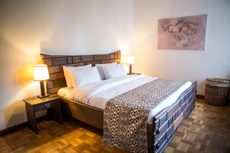 The Sanctuary Bedroom - Furnished Apartments in Nairobi