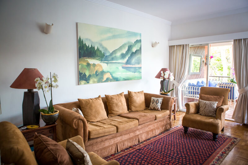 The Sanctuary Living Room - Furnished Apartments in Nairobi