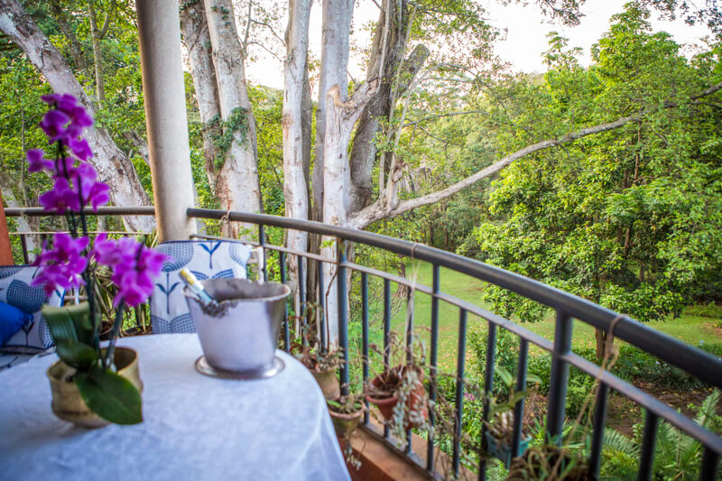 The Sanctuary Balcony - Furnished Apartments in Nairobi