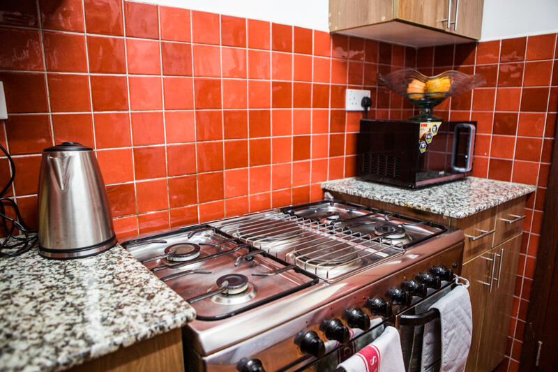 The Sanctuary Kitchen - Furnished Apartments in Nairobi
